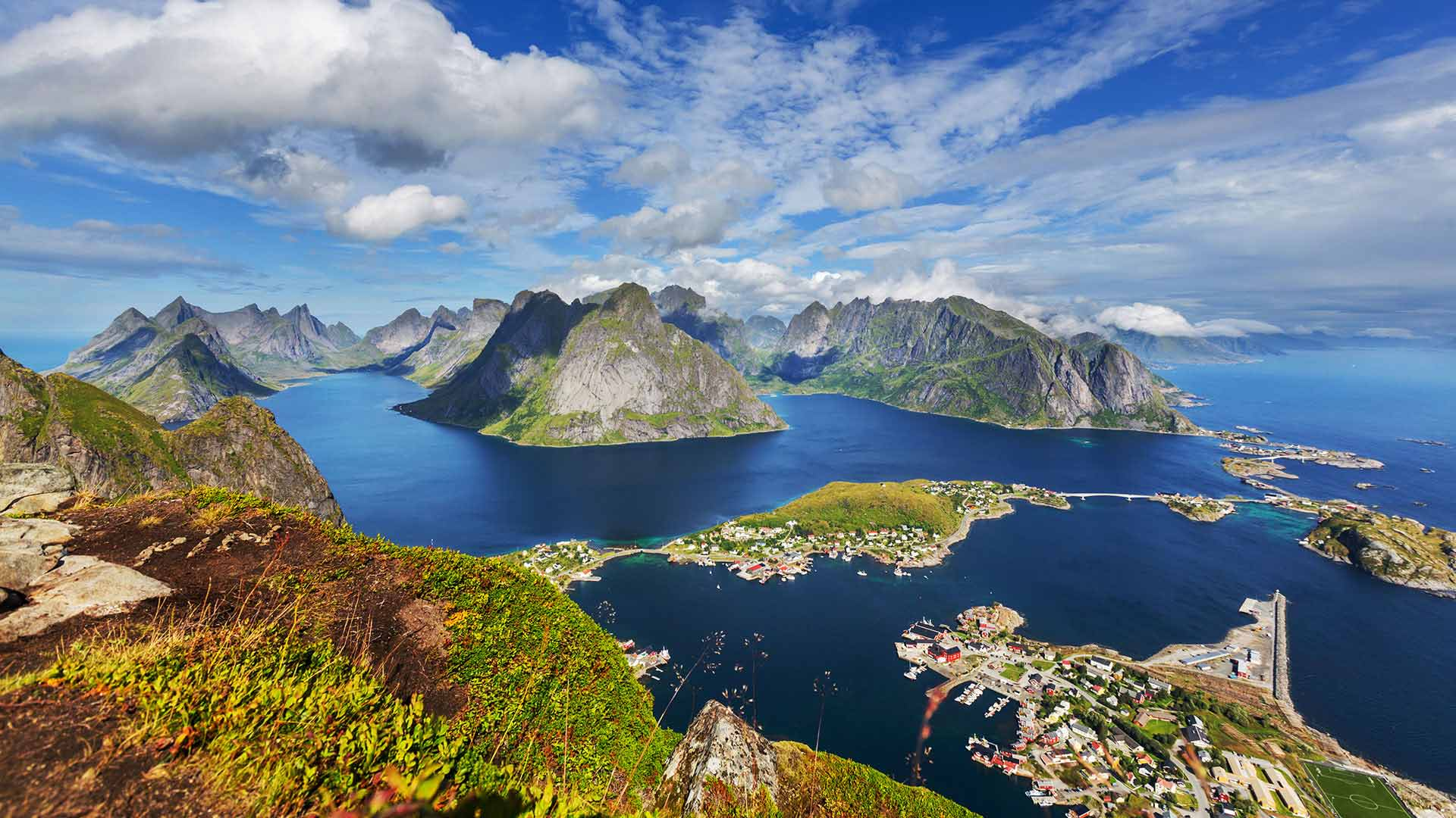 Lofoten and the Fjords - by Cruise and Rail - 10 Days 9 ...